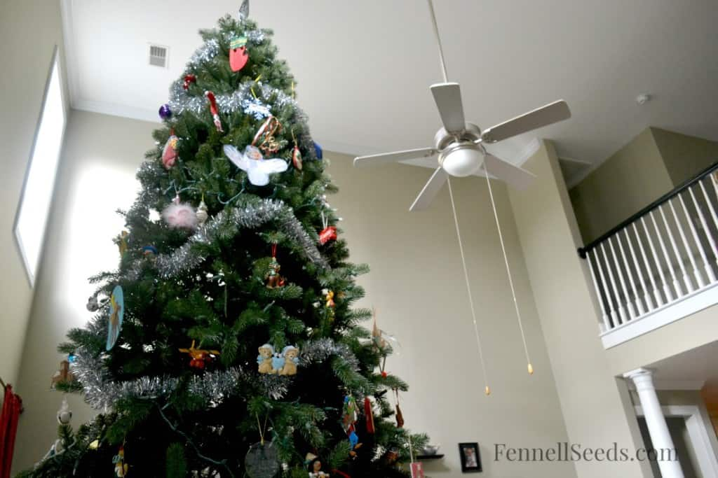 Christmas Tree Ceiling Fan