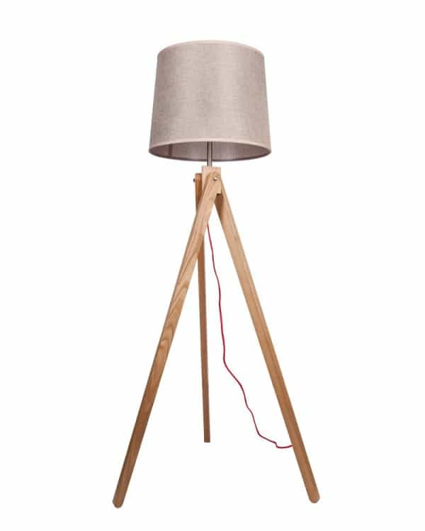 Parrot Uncle Wood Floor Lamp