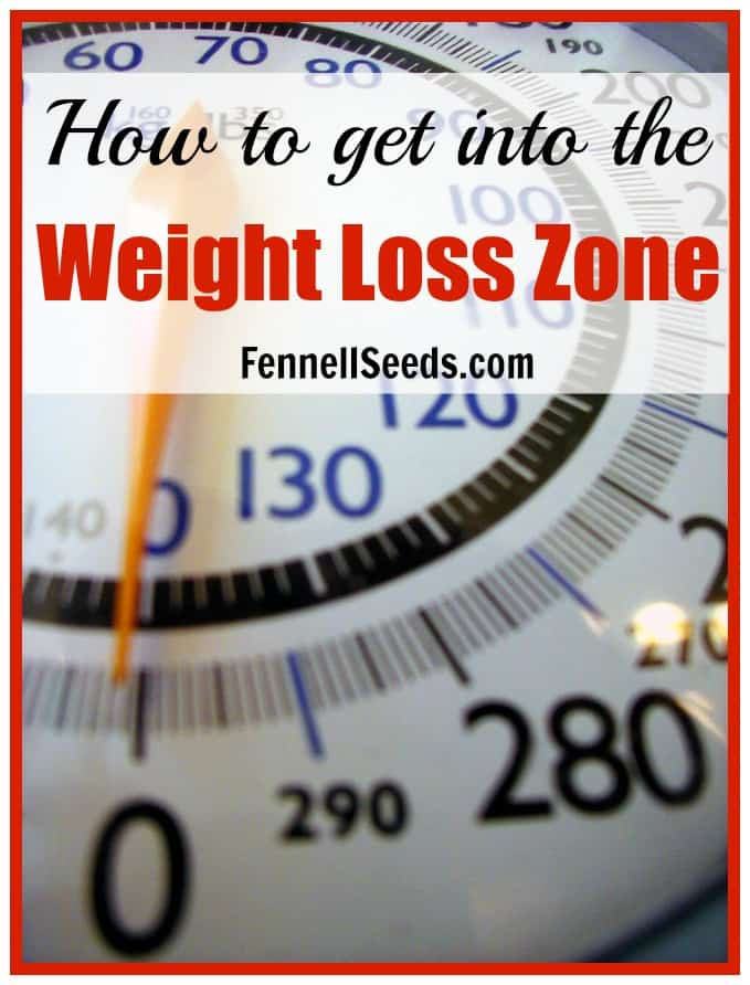 How to get into the Weight Loss Zone