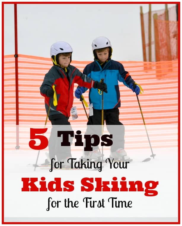 5 Tips for Taking Your Kids Skiing for the First Time