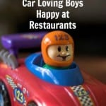 Easy Trick to Keep Car Loving Boys Happy at Restaurants