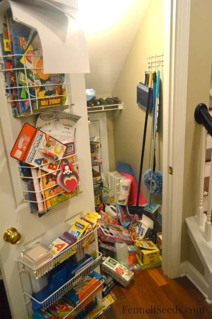 Craft Closet Before 2 Fennell Seeds