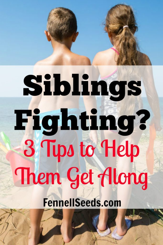 Sibling Relationship   Brother Sister Fight   Fighting? 3 Tips to Help Them Get Along. My favorite things I learned from reading Siblings Without Rivalry. They really work and number 2 is just plain good parenting advice even if your kids don't argue.