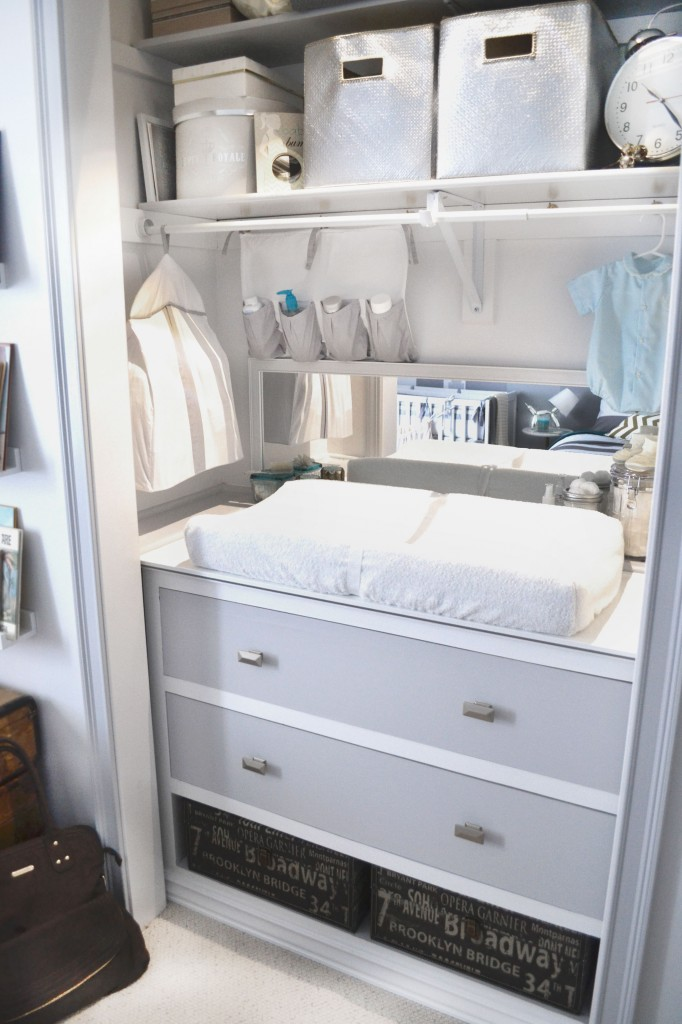9 Most Inspirational Organized Changing Tables To Make Bringing