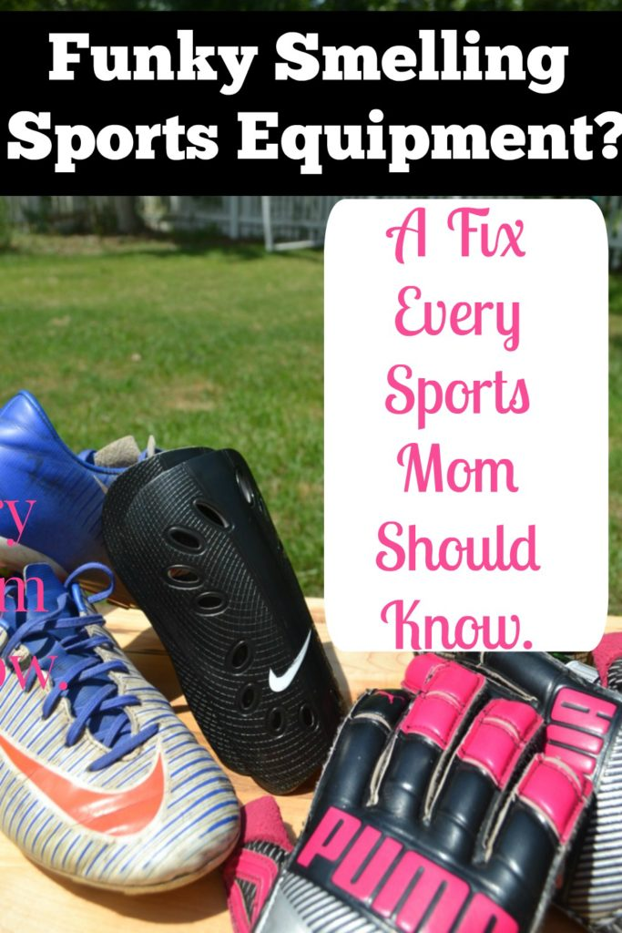 Sports Equipment Smell   Get rid of smell of sports equipment   smelly cleats   smelly sports equipment   clean sports gear   cleaning cleats