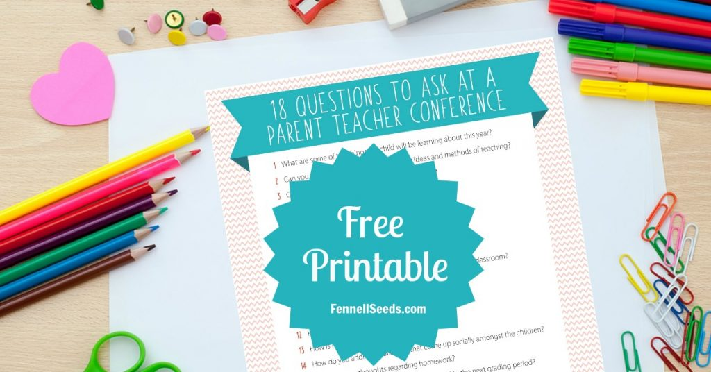 Parent Teacher Conference | Questions to ask at a Parent Teacher conference | Parent Teacher conference questions | questions to ask at a teacher conference