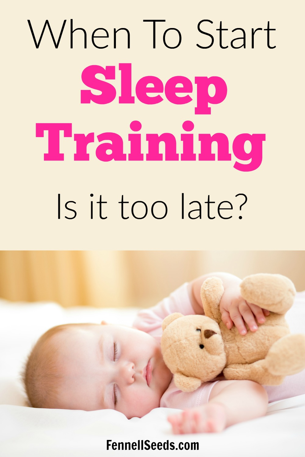 When to start sleep training   when can you start sleep training   when to start sleep training baby   what age to start sleep training   sleep training