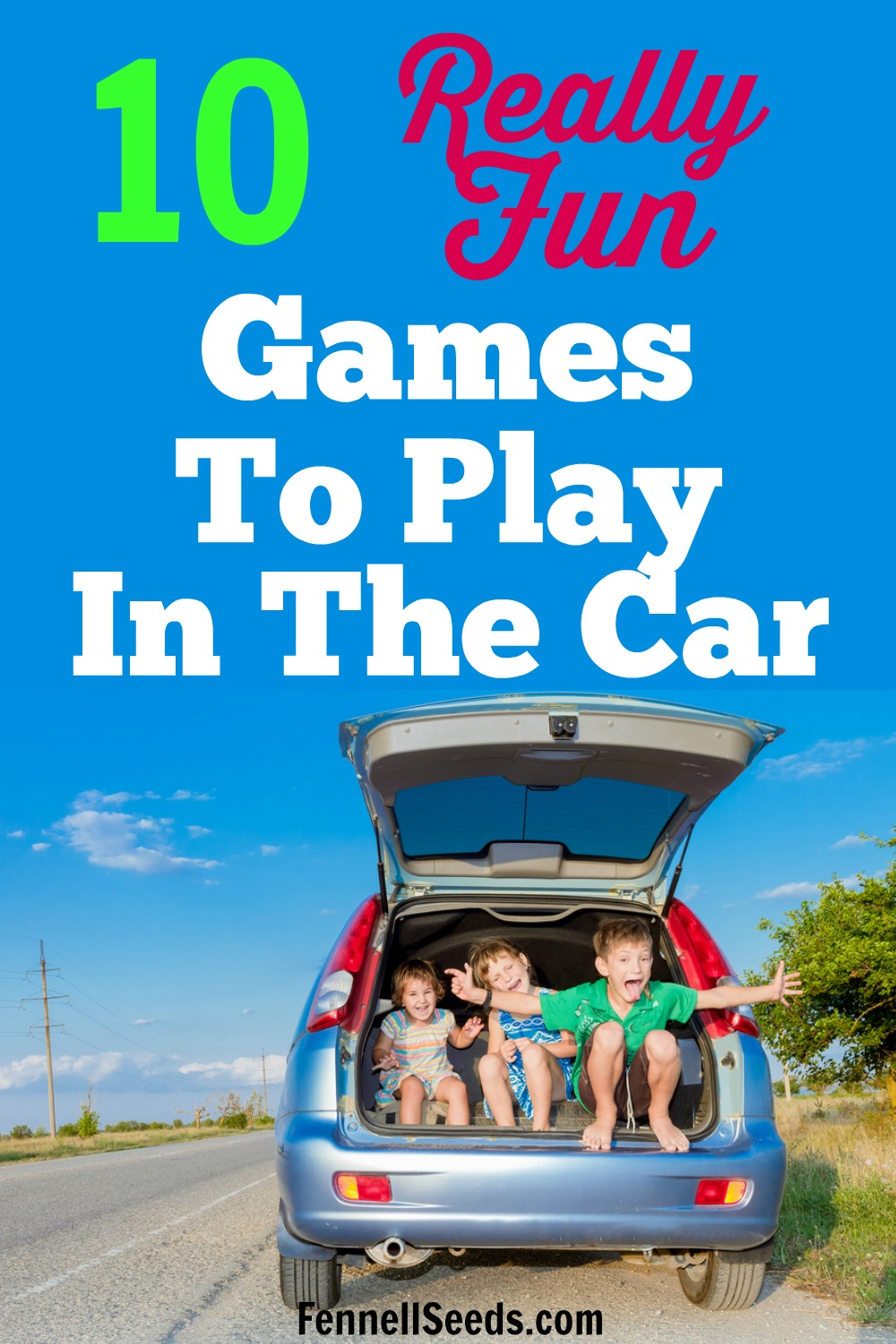 Games to play in the car, car games for kids, travel games for kids, road trip games for kids, fun games to play in the car