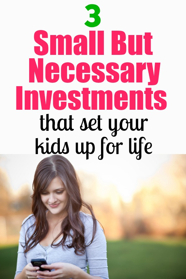 Make these 3 small investments in your kids to give them a great future.#JennyLife #ad