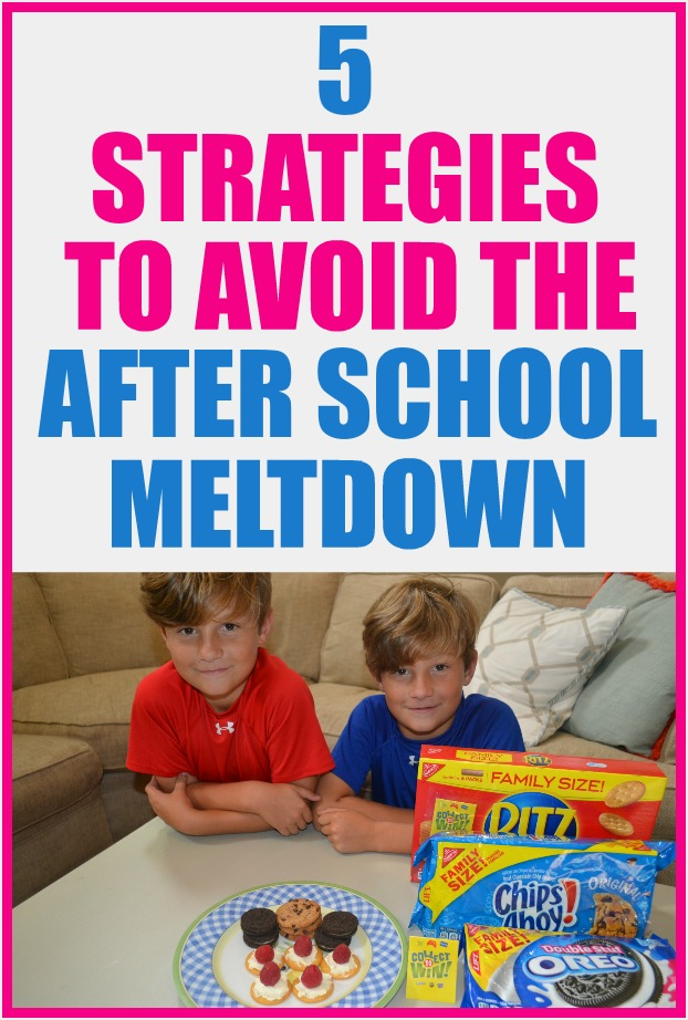 Avoid the after school meltdown #AD with these 5 tips. #CollectToWin #IC