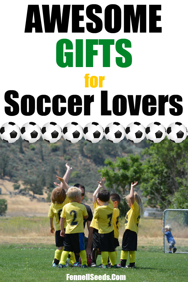 Soccer theme gifts are a huge hit in our house. Gift Guide for Soccer | Gifts for Soccer Lovers | Soccer Gifts