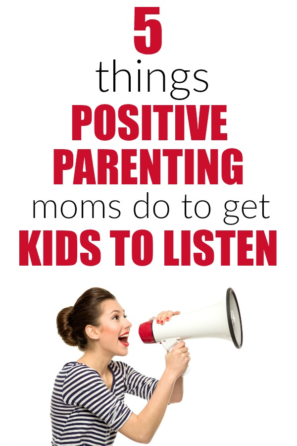 5 positive parenting tips for how to get kids to listen without yelling. Discipline   gentle parenting   no yelling   listening