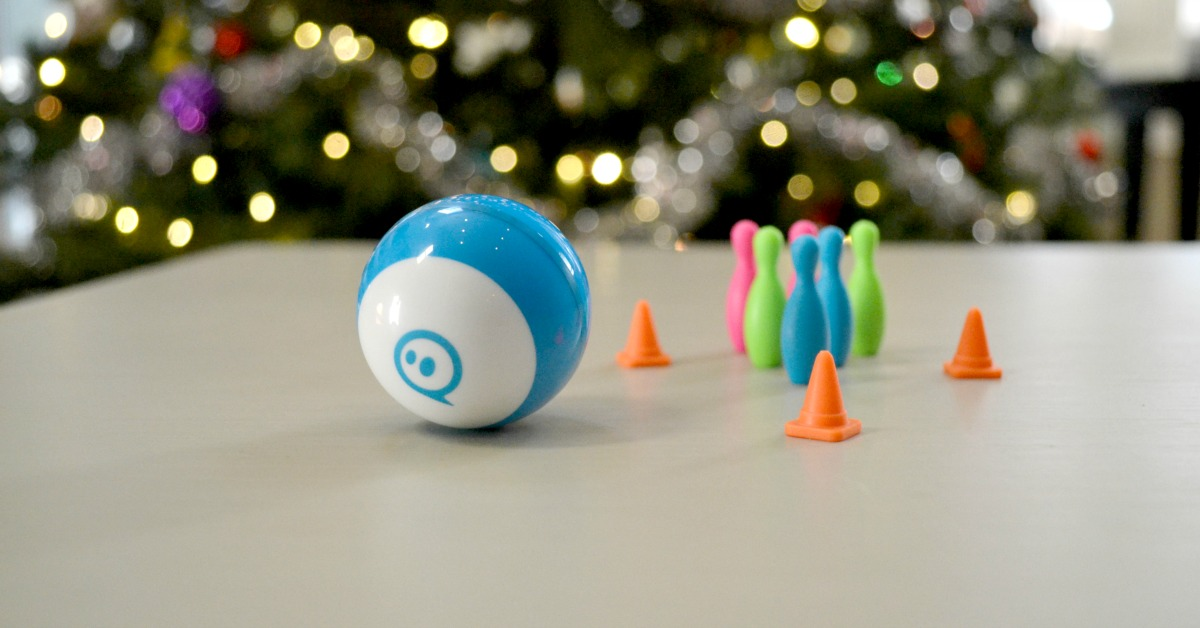 Sphero Mini STEAM robot is so much fun for kids. Makes coding and programming exciting.