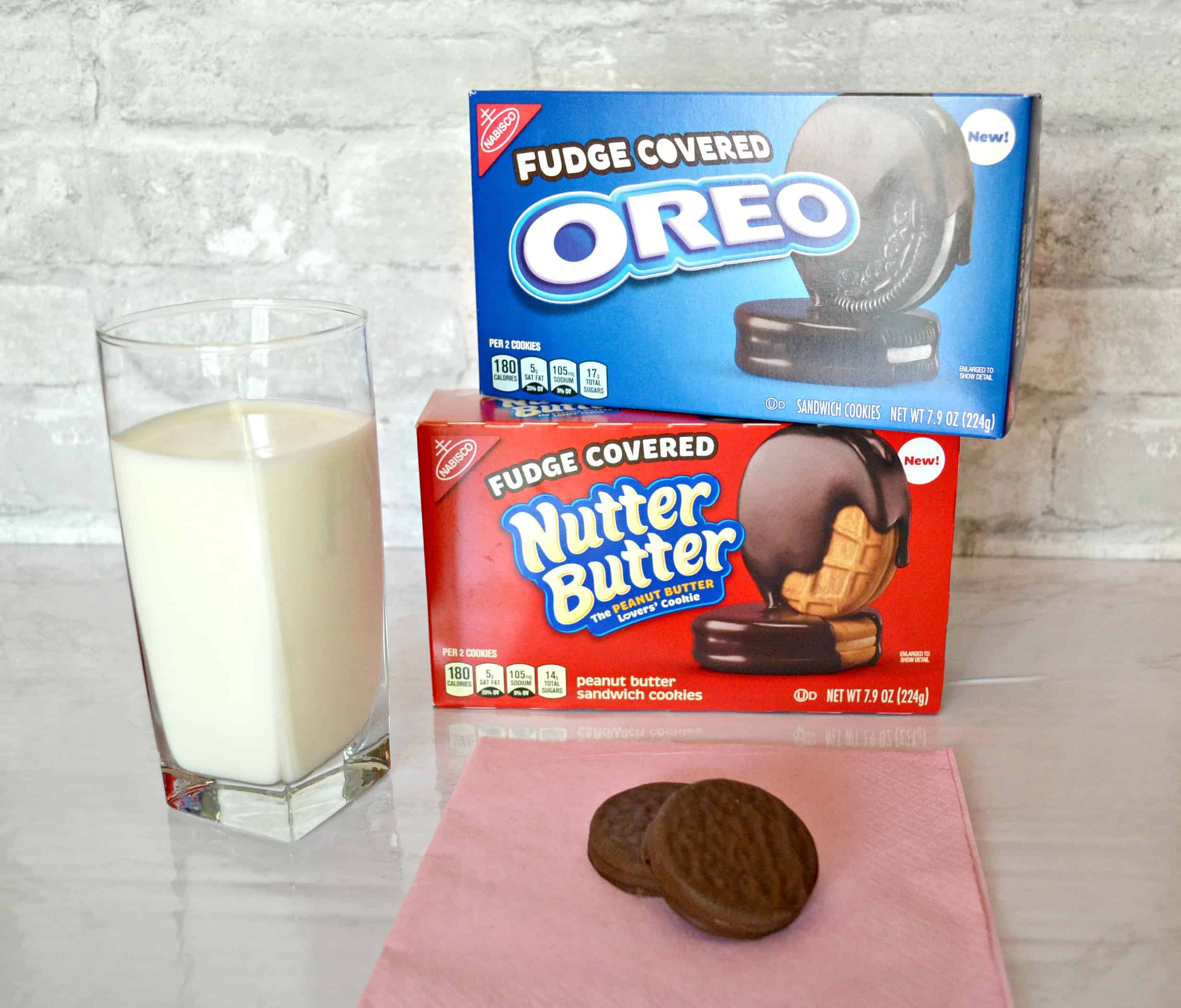 Rewards are the trick to staying productive. Try the Fudge Covered OREO cookies.