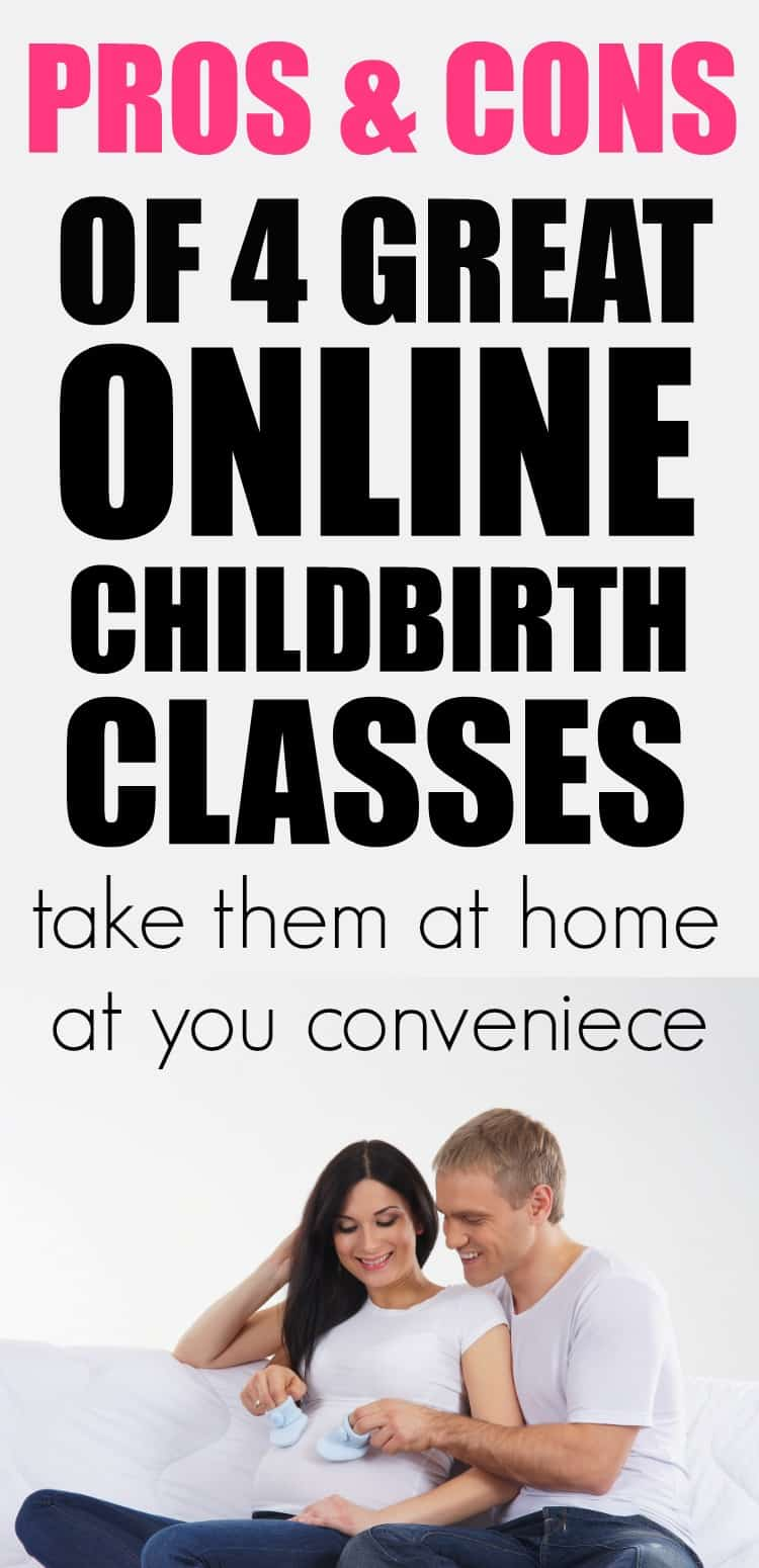Pros and Cons of 4 Great Online Childbirth Classes.
