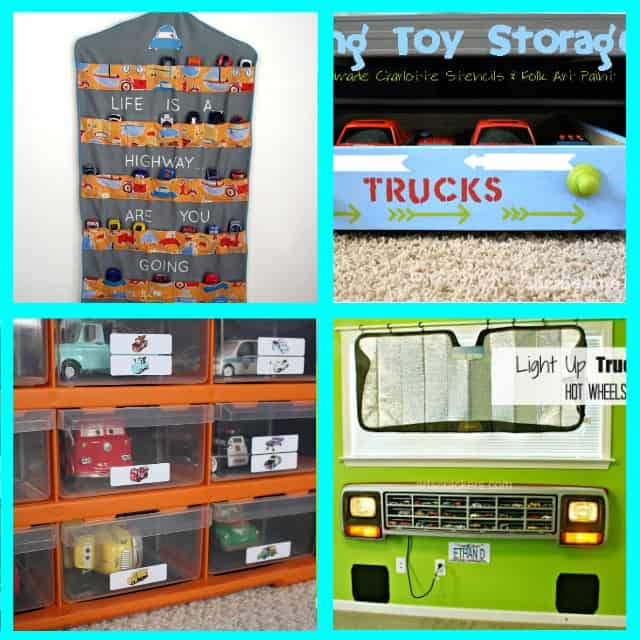 How to organize boy toys. I love all these ideas for DIY toy storage especially for boy toys. #toystorageideas #toyorganization