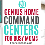 20 Genius Home Command Centers For Busy Moms