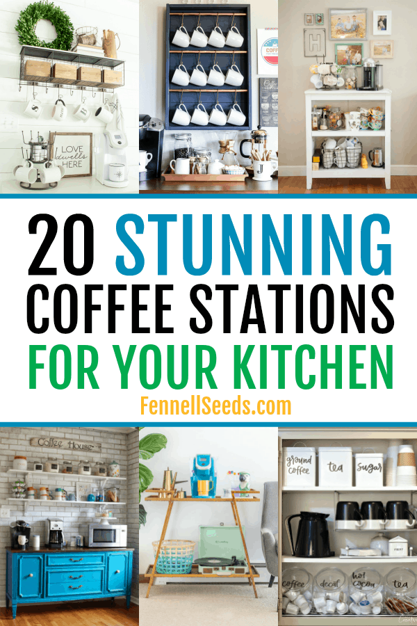 20 Stunning DIY Coffee Stations For Your Home.