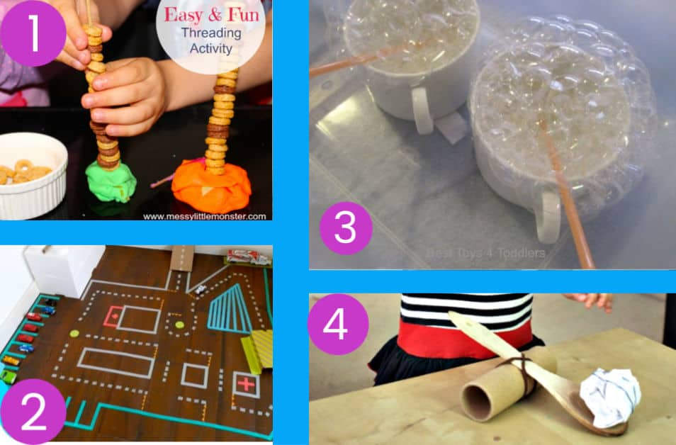 Indoor kids activities for when you are stuck at home.