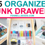 15+ Brilliant Junk Drawer Organization Hacks