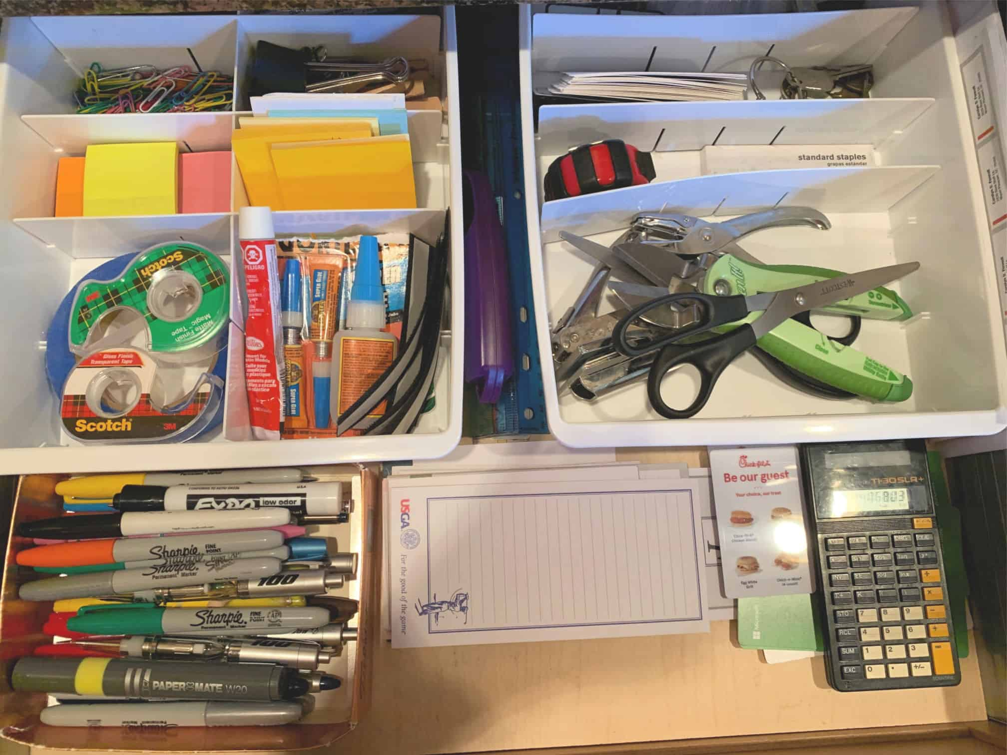 Junk Drawer Organization FennellSeeds